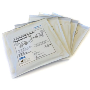 Zoll  Replacement Gel Pads for Training CPR-D pads, set of 5