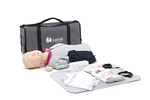 Laerdal Resusci Anne with QCPR, torso with bag