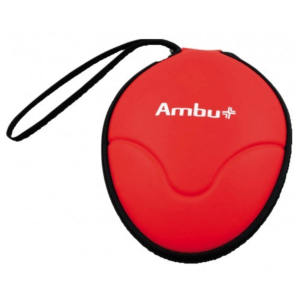 Ambu Rescue Mask, breathing mask with O2 inlet, soft-case