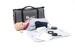 Laerdal Resusci Anne QCPR with Airway Head, torso with bag