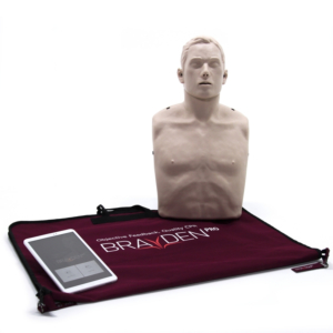 Brayden PRO Manikin With Bluetooth App Support and RED LED lighting