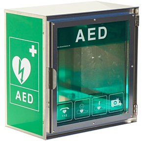 Claus Andersen AED outdoor cabinet