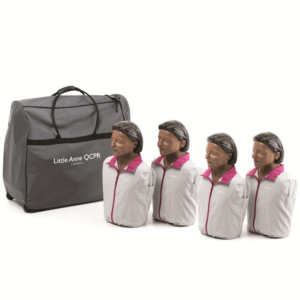 Laerdal Little Anne QCPR (pack of 4) with dark skin