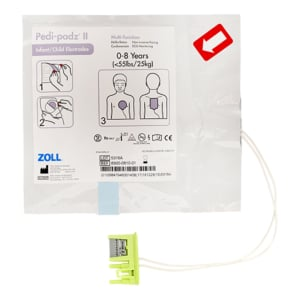 Zoll paediatric electrode pads