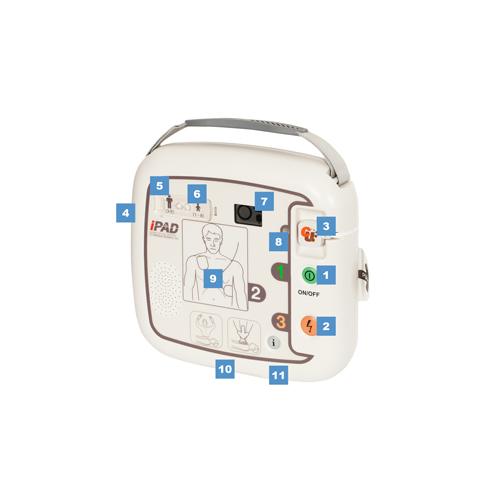iPAD SP1 semi-automatic defibrillator